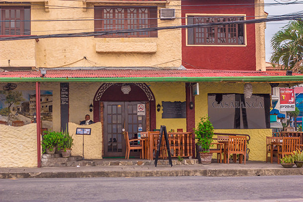 Restaurants in Dumaguete: Casablanca Restaurant