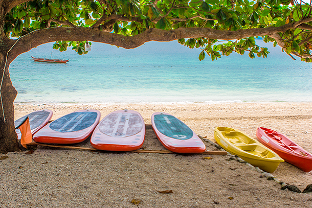 Sambawan Island Travel Guide: Kayaking and Paddle Boarding