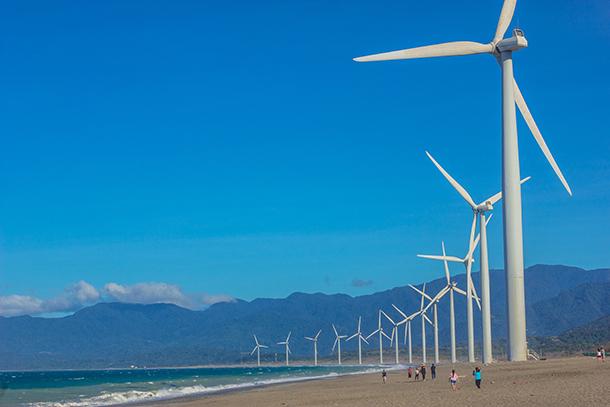 Ilocos Norte Tourist Spots: Bangui Windmills