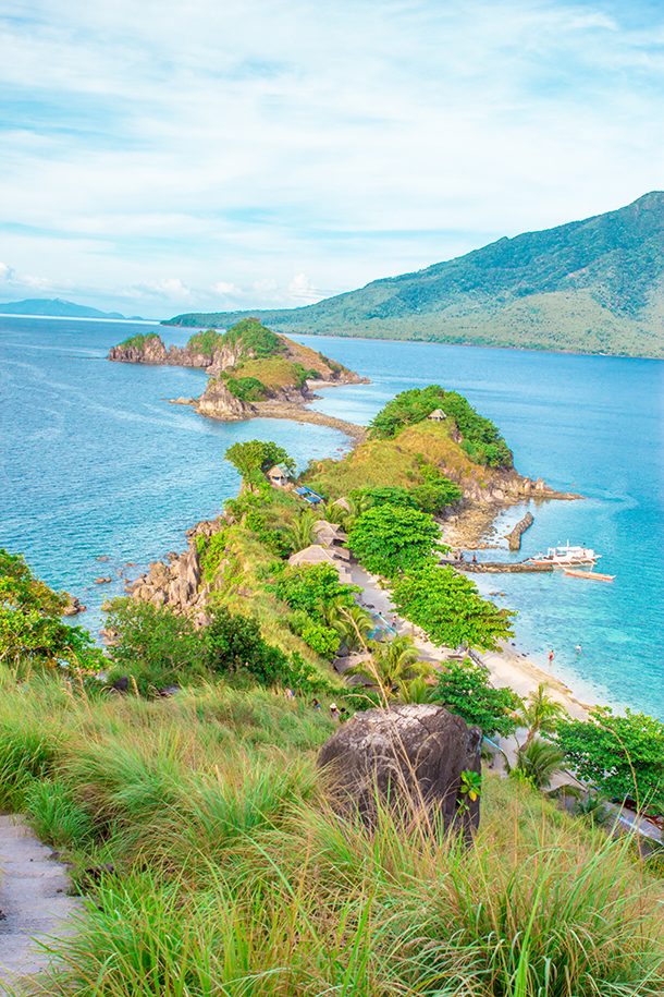 Sambawan Island Travel Guide: Trekking View from Main Island