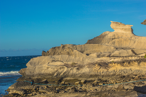 Ilocos Norte Tourist Spots: White Rock Formation