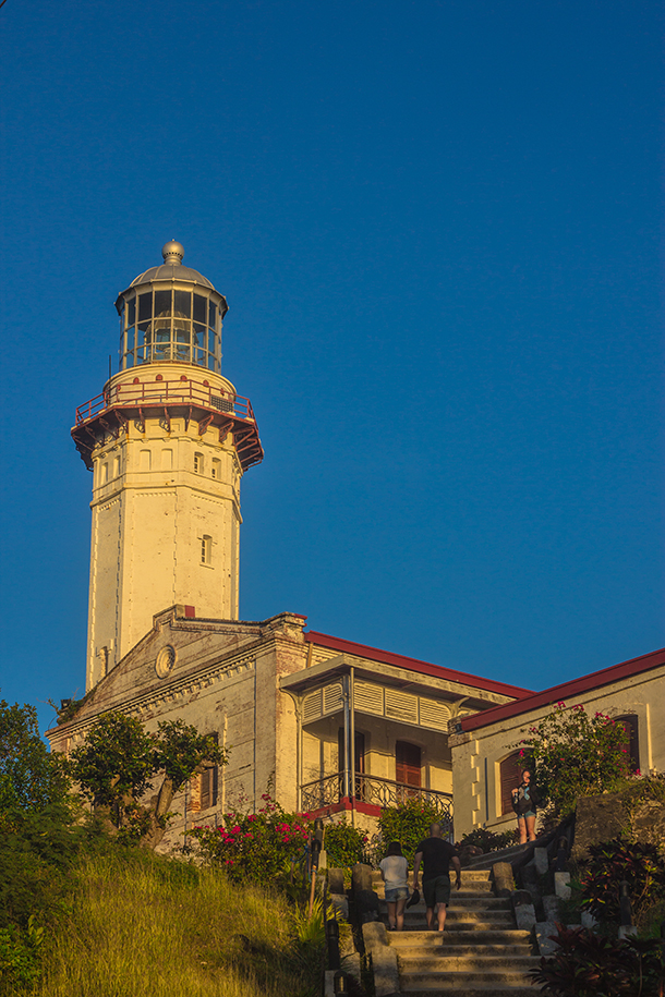 Ilocos Tour Photos: Cape Bojeador Lighthouse At the Golden Hour