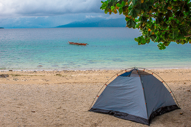 Sambawan Island Travel Guide: Camping