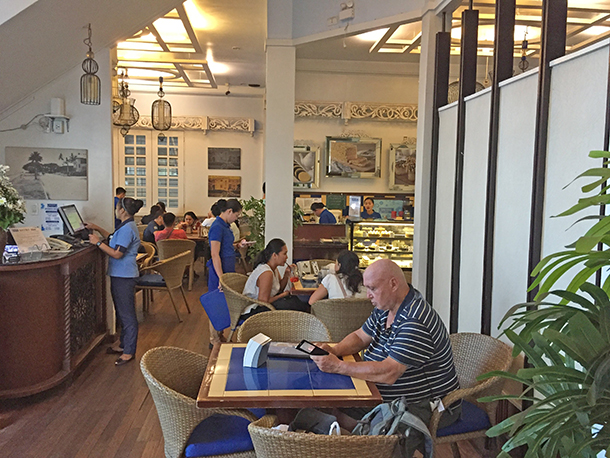 Restaurants in Dumaguete: Sans Rival Bistro Inside the Restaurant