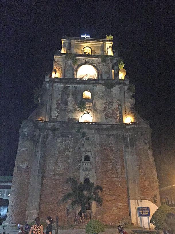 Ilocos Norte Tourist Spots: Laoag Sinking Belltower