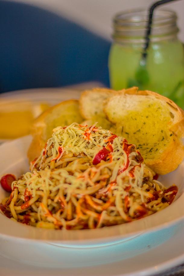 Restaurants in Dumaguete: Sans Rival Bistro Sans Rival Spaghetti
