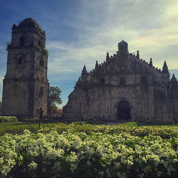 Ilocos Norte Tourist Spots: Paoay Church