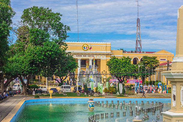 Ilocos Tour Photos: Plaza Salcedo and Ilocos Sur Capitol