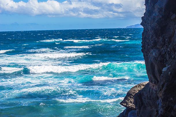 Ilocos Norte Tourist Spots: Sea at Bantay Abot