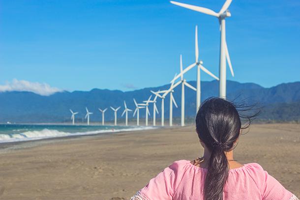 Ilocos Tour: Bangui Windmills Ilocos Norte