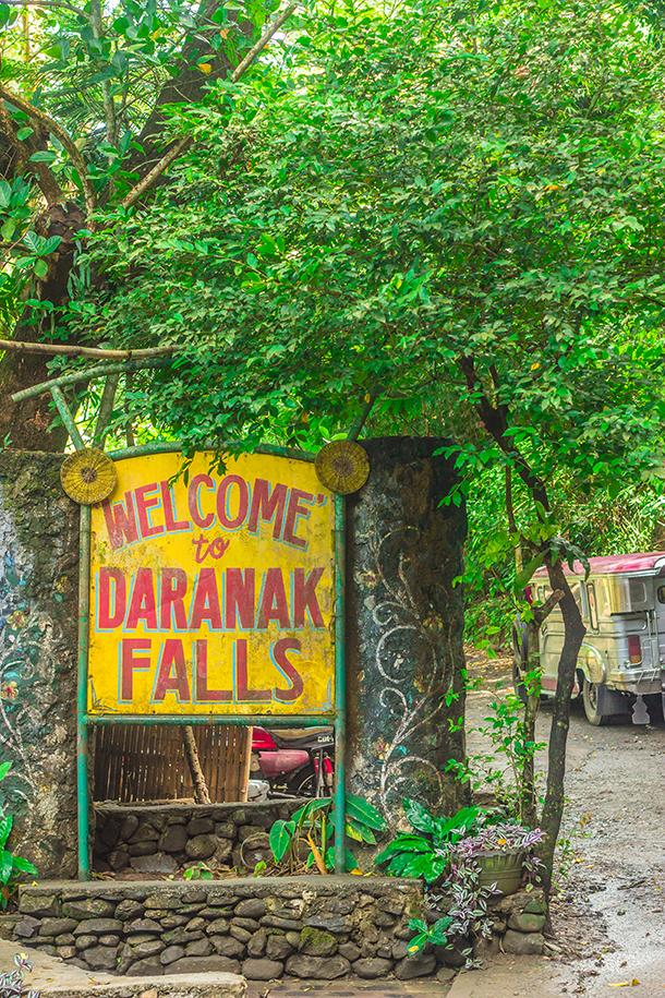 Manila Day Trips: Entrance at the Daranak Falls