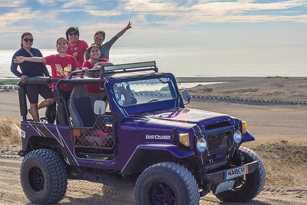 Ilocos Tour: Paoay Sand Dunes 4X4 Jeep Adventure