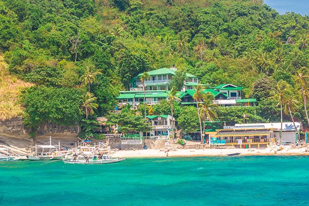 Negros Oriental Photos: Resort at Apo Island