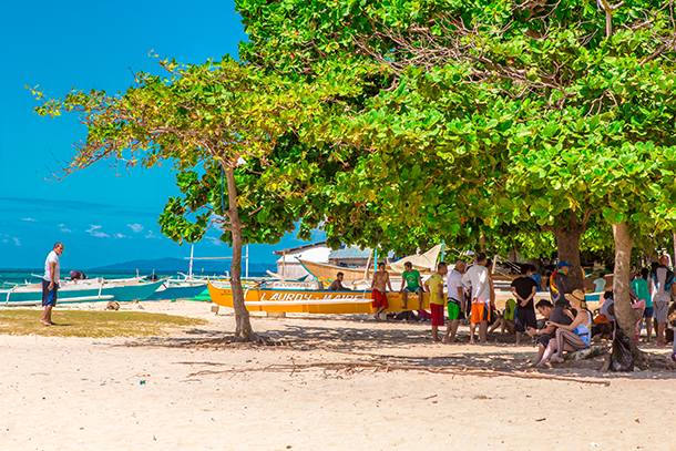 Bohol Island Hopping: In Mocaboc Island>