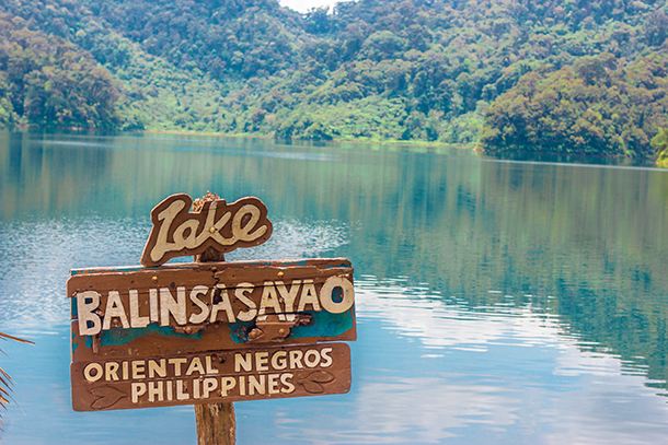 Twin Crater Lakes: Lake Balinsasayao