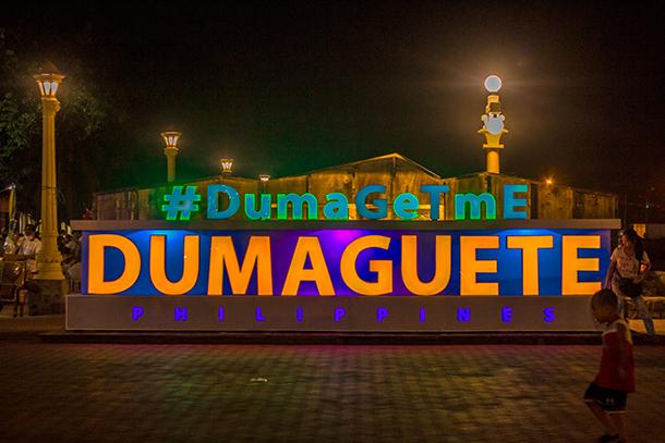 Negros Oriental Photos: DumaGetMe Signage