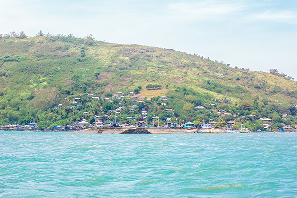 Negros Oriental Photos: Approaching the Canibol Wharf