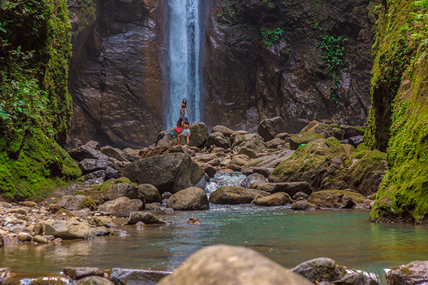Negros Oriental Photos: Base of the Falls