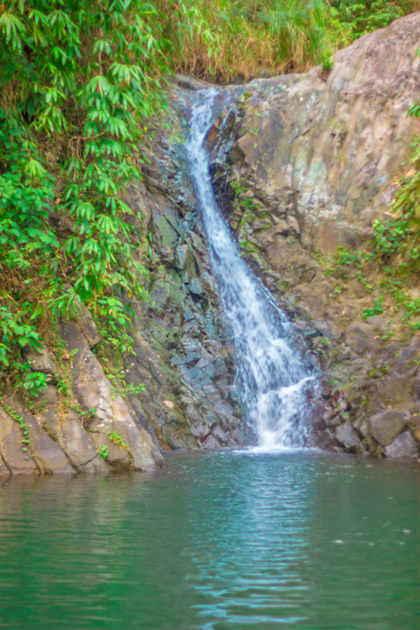 Negros Oriental Photos: Second Falls Near Pulang Bato