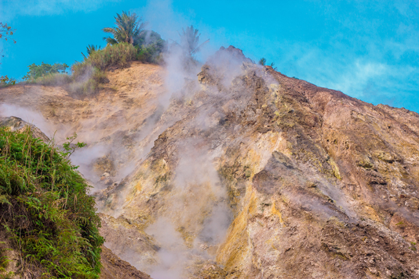 Negros Oriental Photos: Sulfur Vent Mountain/ Steaming Ground