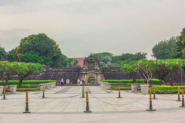 Manila Day Trips: Fort Santiago Entrance