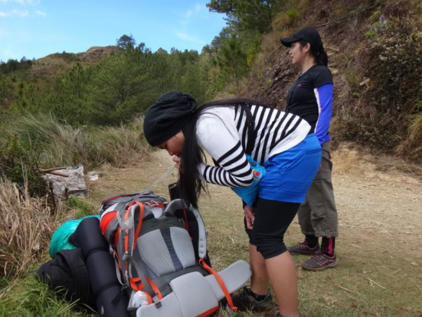 Mt. Pulag Ultimate Packing List: Hands-Free Hydration Packs