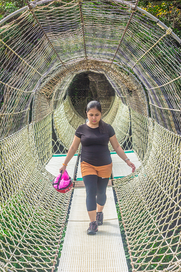 Manila Day Trips: Walking Through The Sawa Rope Course