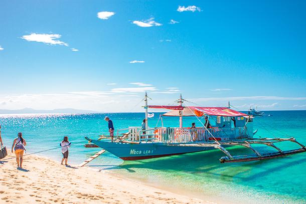 Sambawan Island and Kalanggaman Island Tour: Boat back to Mainland