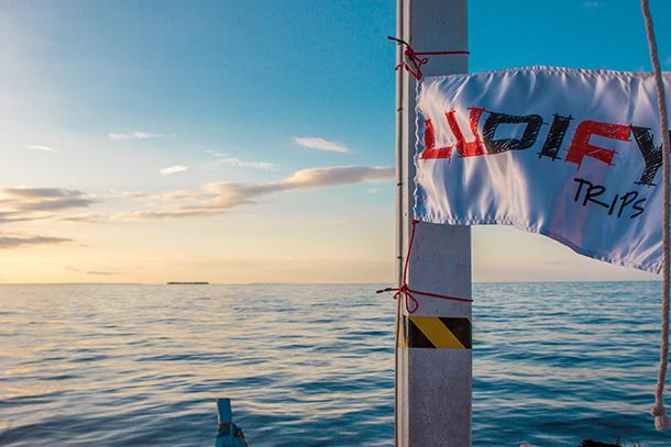Sambawan Island and Kalanggaman Island Tour: LUDIFY Trips Flag