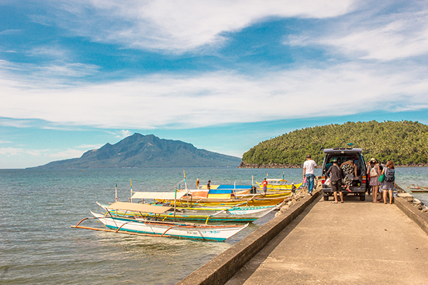 Sambawan Island and Kalanggaman Island Tour: Boats to Sambawan Island