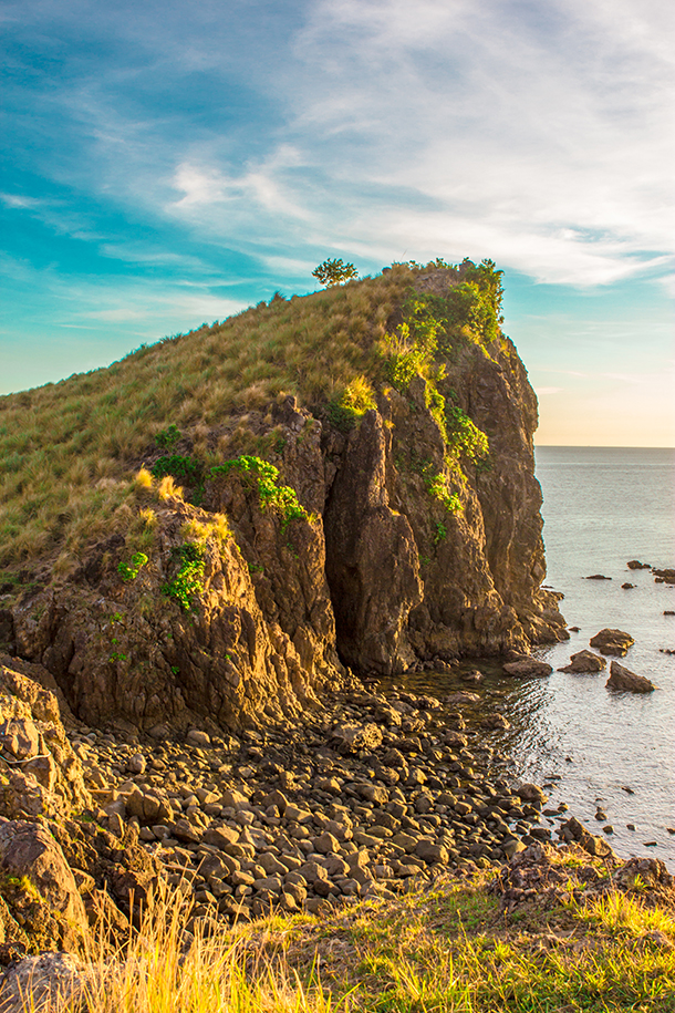 Sambawan Island and Kalanggaman Island Tour: Cliffs at Sambawan Island