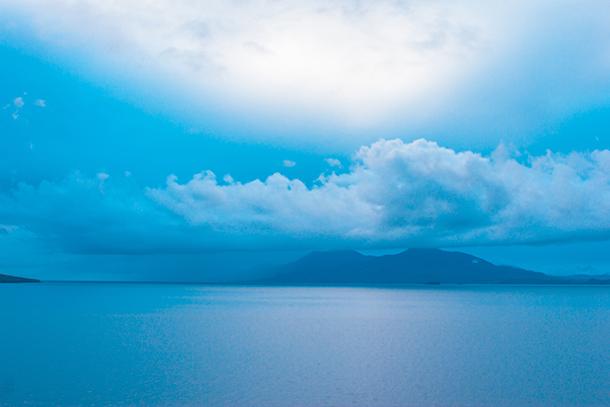 Sambawan Island and Kalanggaman Island Tour: Early Morning View from the Hill