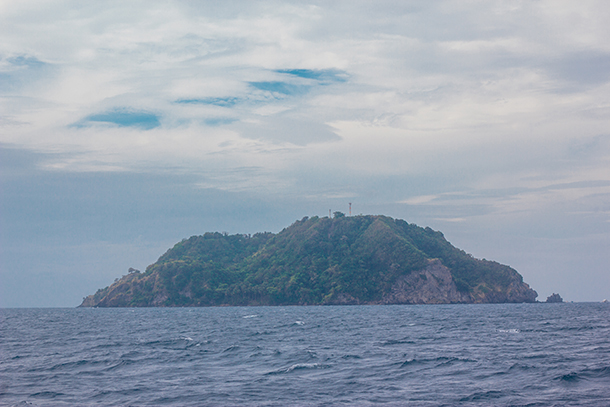 Apo Island: View from the Boat