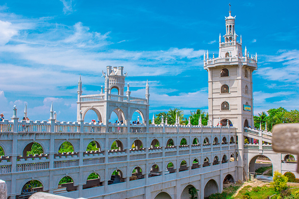 Edifice of Simala Church