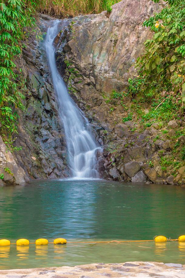 Pulangbato Falls: Twin Falls