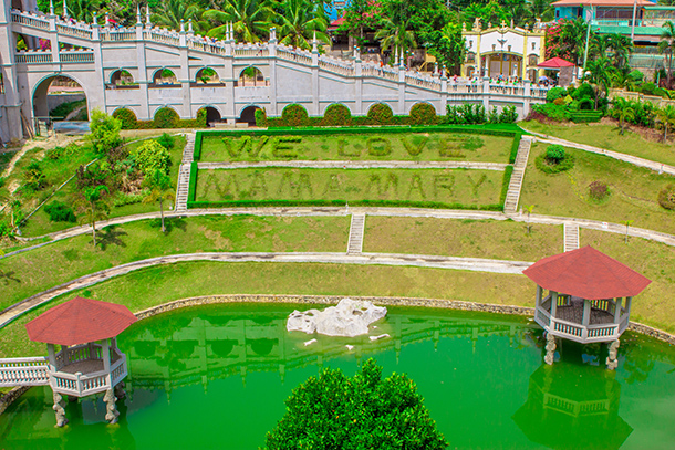 Simala Shrine Guide: Gardens