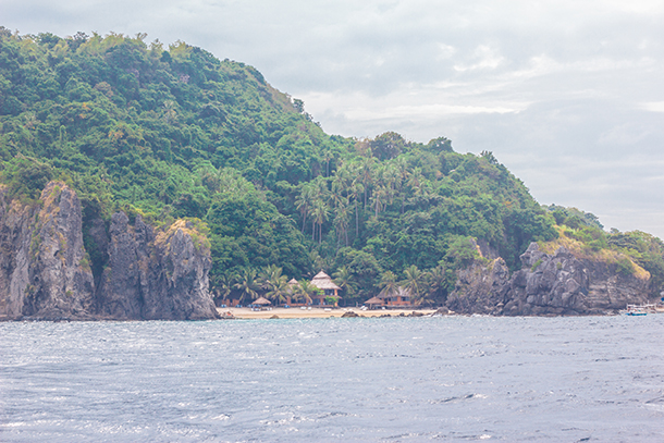 Apo Island: Anchored at Sea