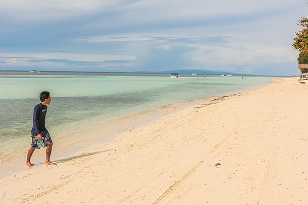 Panglao Bohol: Stroll at the Bolod Shoreline