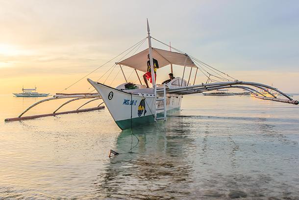 Bolod Beach: Panglao Island Hopping