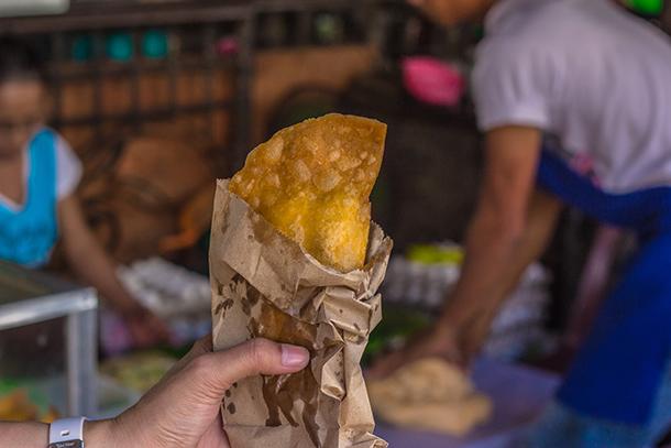 Vigan, Ilocos Sur Food: Empanada