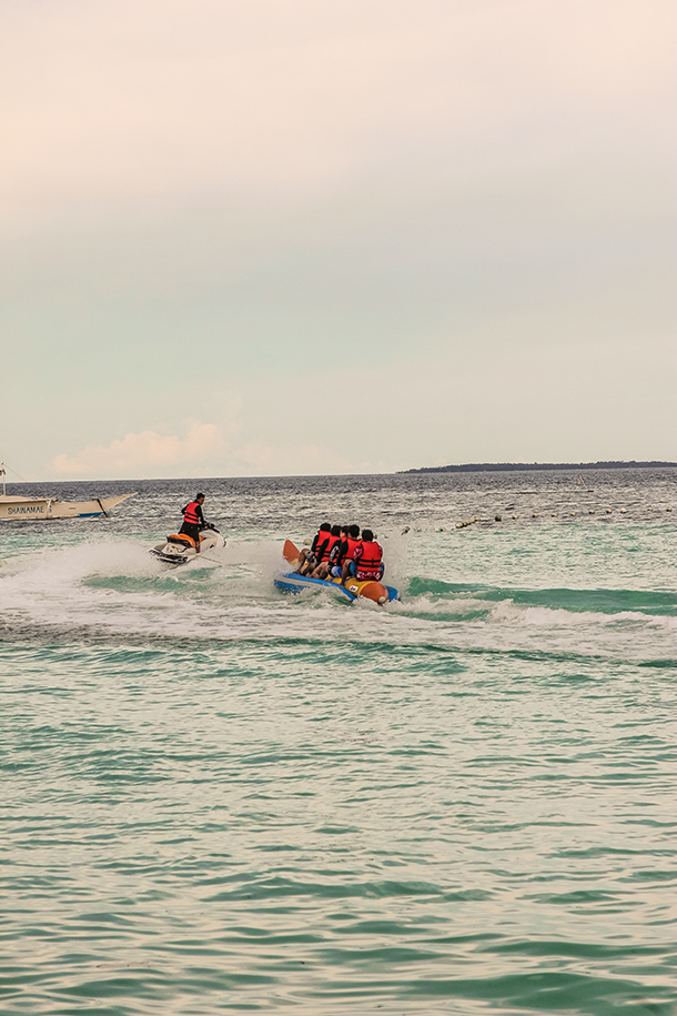 Dumaluan Beach Resort: Watersports at Bolod Beach