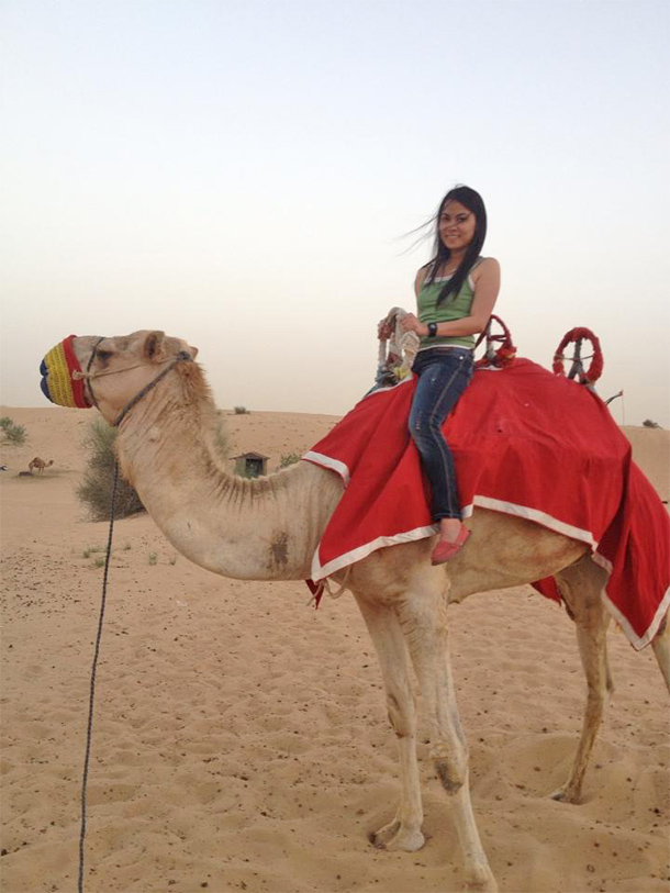 Things to Do Dubai: Camel Riding at the Desert Safari Camp
