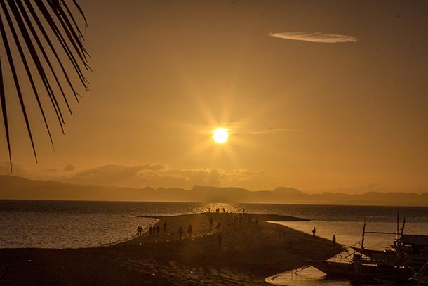 Photos of Kalanggaman Island: Sunrise