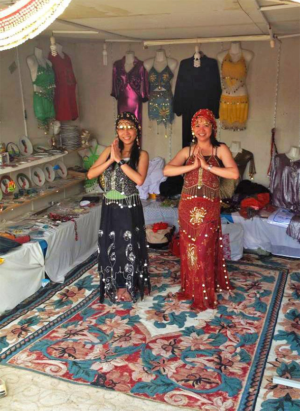 Things to Do Dubai: Wear Traditional Costumes at the Desert Safari Camp
