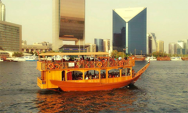 Places to Visit in Dubai: Dhow Cruise