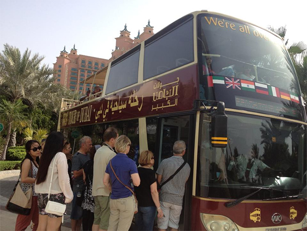 Things to Do Dubai: Dubai Bus