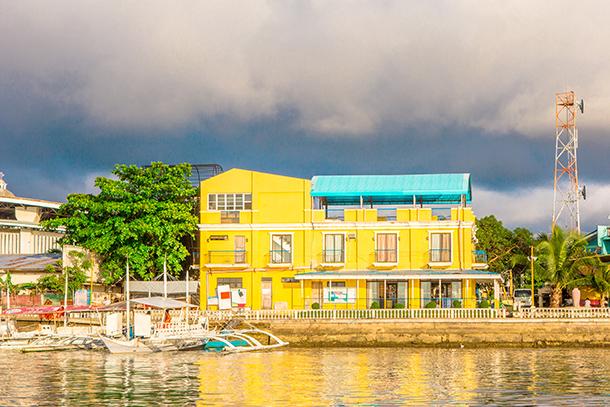 Photos of Kalanggaman Island: Palompon Pier During the Golden Hour