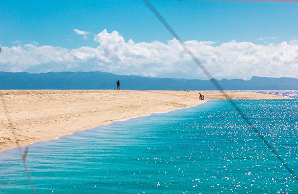Photos of Kalanggaman Island: Sandbar