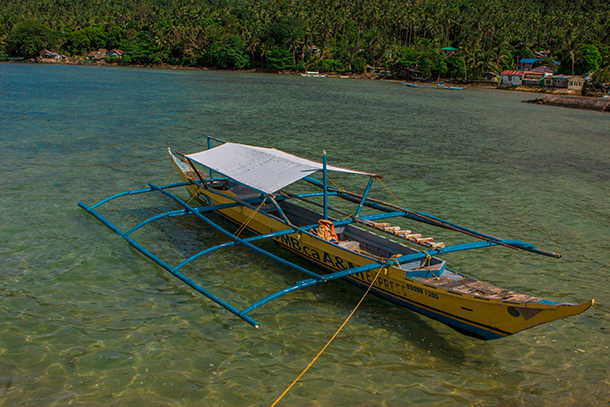 Photos of Sambawan Island: Boat at Biliran