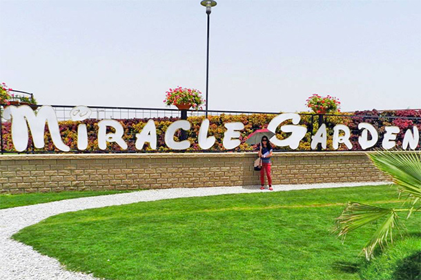 Things to Do Dubai: Surround yourself with flowers at the Dubailand's Miracle Garden